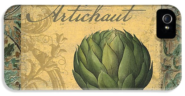 Tavolo, Italian Table, Artichoke IPhone 5 / 5s Case by Mindy Sommers