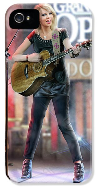 Taylor At The Opry IPhone 5 / 5s Case by Don Olea
