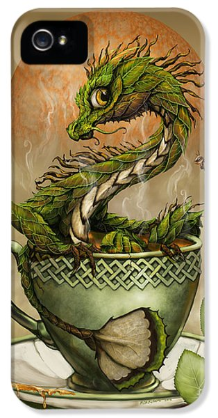 Tea Dragon IPhone 5 / 5s Case by Stanley Morrison