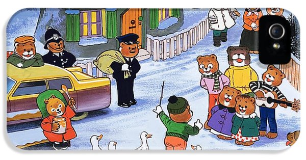 Conducting iPhone 5 Cases - Teddies in winter  iPhone 5 Case by English School