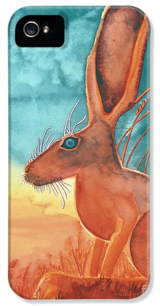 Jackrabbit iPhone 5 Cases - Thats Some Kind of Jack iPhone 5 Case by Tracy L Teeter