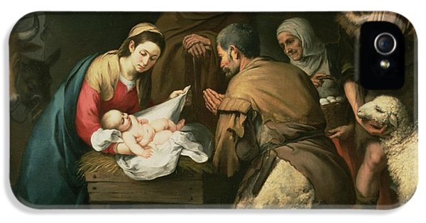 The Adoration Of The Shepherds IPhone 5 / 5s Case by Bartolome Esteban Murillo