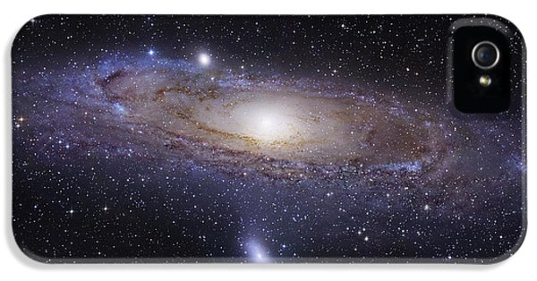 No People iPhone 5 Cases - The Andromeda Galaxy iPhone 5 Case by Robert Gendler