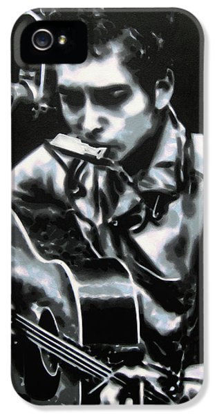 Ludzska iPhone 5 Cases - The answer my friend is blowin in the wind iPhone 5 Case by Luis Ludzska