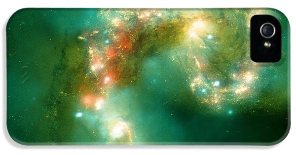 The Antennae Galaxies IPhone 5 / 5s Case by American School
