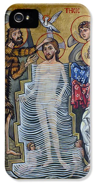 The Baptism Of Christ IPhone 5 / 5s Case by Filip Mihail