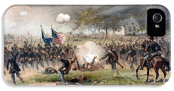 The Battle Of Antietam IPhone 5 / 5s Case by War Is Hell Store