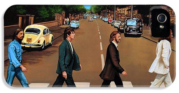 The Beatles Abbey Road IPhone 5 / 5s Case by Paul Meijering