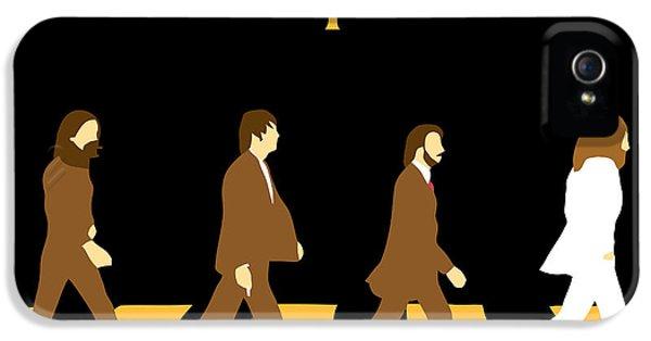 Paul Mccartney iPhone 5 Cases - The Beatles No.19 iPhone 5 Case by Caio Caldas