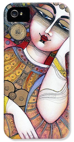 Lady iPhone 5 Cases - The Beauty iPhone 5 Case by Albena Vatcheva