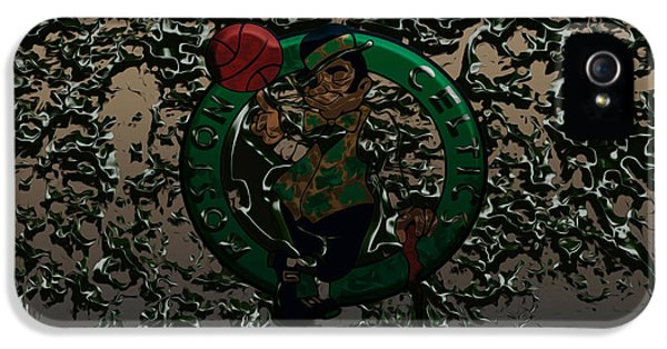 The Boston Celtics 1c IPhone 5 / 5s Case by Brian Reaves