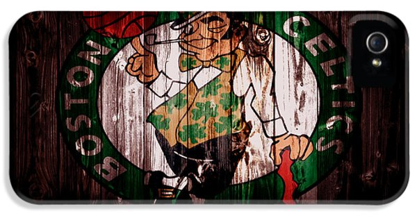 The Boston Celtics 5a IPhone 5 / 5s Case by Brian Reaves