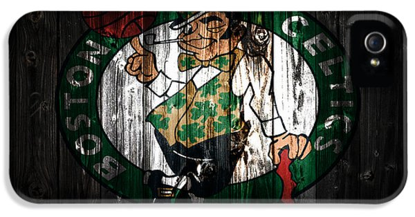 The Boston Celtics 5c IPhone 5 / 5s Case by Brian Reaves