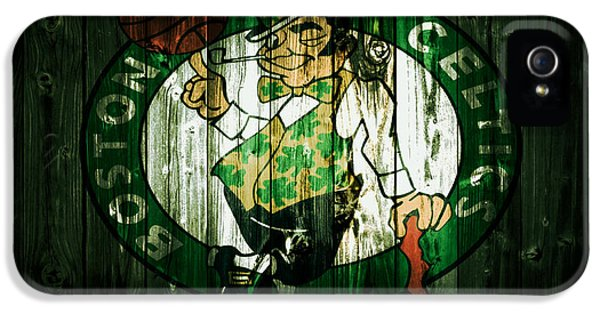 The Boston Celtics 5d IPhone 5 / 5s Case by Brian Reaves