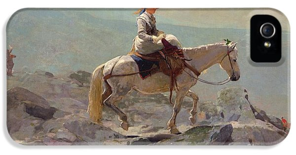 Homer iPhone 5 Cases - The Bridal Path iPhone 5 Case by Winslow Homer