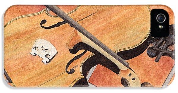 The Broken Violin IPhone 5 / 5s Case by Ken Powers