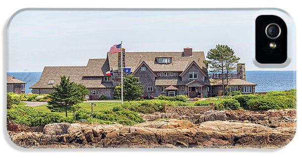 The Bush Family Compound On Walkers Point IPhone 5 / 5s Case by Brian MacLean