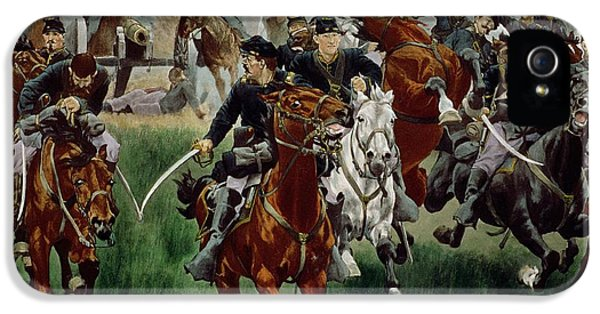 The Cavalry IPhone 5 / 5s Case by WT Trego