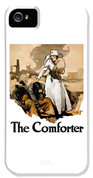 Medical iPhone 5 Cases - The Comforter iPhone 5 Case by War Is Hell Store