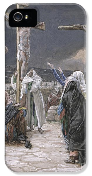 Son Of God iPhone 5 Cases - The Death of Jesus iPhone 5 Case by Tissot