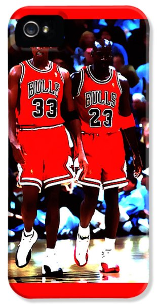 Pippen iPhone 5 Cases - The Dynamic Duo iPhone 5 Case by Brian Reaves