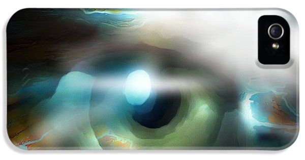 Eyeball iPhone 5 Cases - The Eye Of The Storm iPhone 5 Case by Bob Salo
