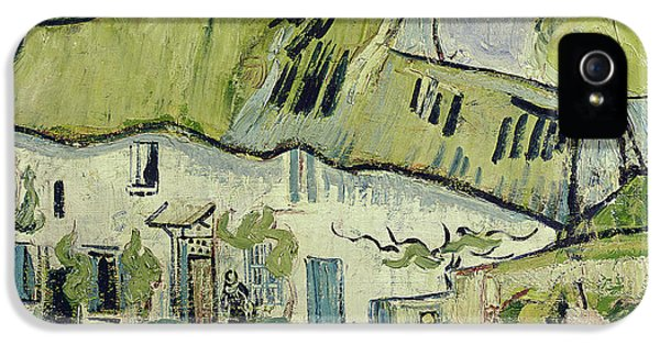 Oil House iPhone 5 Cases - The Farm in Summer iPhone 5 Case by Vincent van Gogh