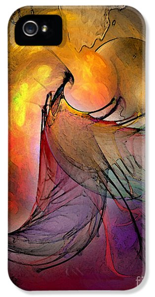 Contemplative iPhone 5 Cases - The Firedevil iPhone 5 Case by Karin Kuhlmann