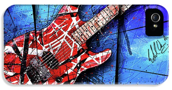 The Frankenstrat Vii Cropped IPhone 5 / 5s Case by Gary Bodnar