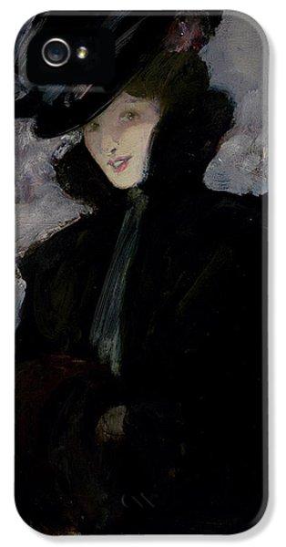 The Fur Coat IPhone 5 / 5s Case by Bessie MacNicol