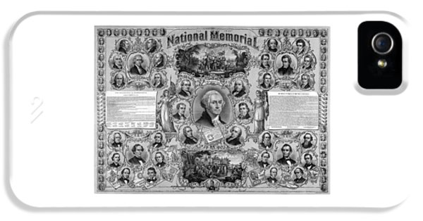 Declaration iPhone 5 Cases - The Great National Memorial iPhone 5 Case by War Is Hell Store