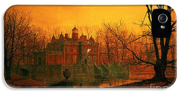 The Haunted House IPhone 5 / 5s Case by John Atkinson Grimshaw