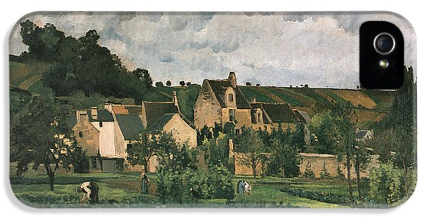 The Hermitage At Pontoise IPhone 5 / 5s Case by Camille Pissarro