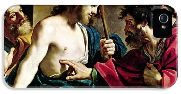 The Incredulity Of Saint Thomas IPhone 5 / 5s Case by Guercino