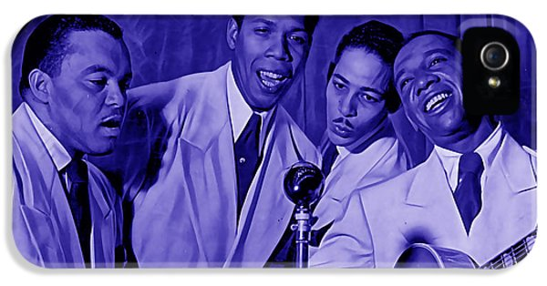 The Ink Spots Collection IPhone 5 / 5s Case by Marvin Blaine