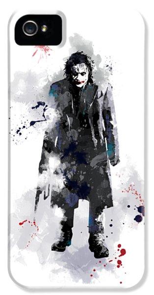 The Joker IPhone 5 / 5s Case by Marlene Watson