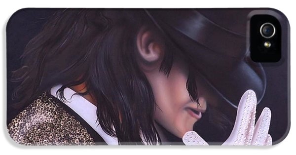 Michael Jackson iPhone 5 Cases - The King of Pop iPhone 5 Case by Darren Robinson