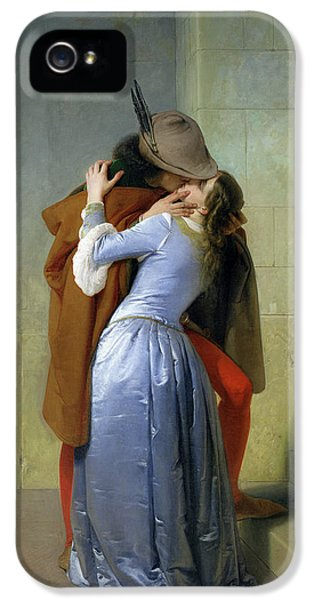 Romantic iPhone 5 Cases - The Kiss iPhone 5 Case by Francesco Hayez