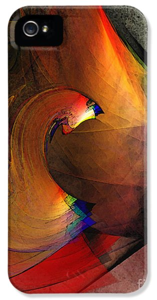 Contemplative iPhone 5 Cases - The Last Curtain iPhone 5 Case by Karin Kuhlmann