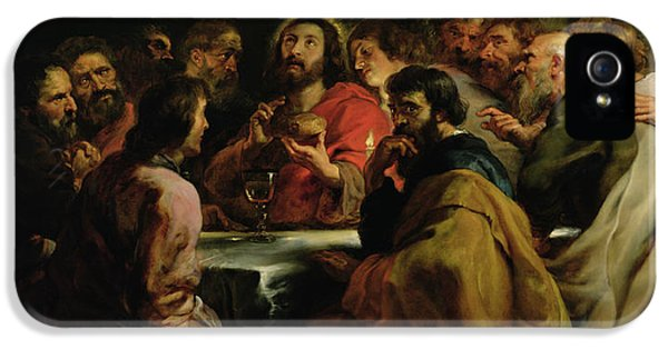 The Last Supper IPhone 5 / 5s Case by Rubens