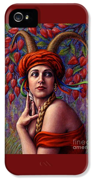 The Letter IPhone 5 / 5s Case by Jane Bucci