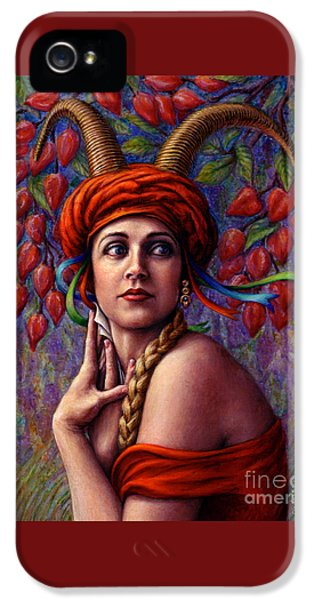 Lady iPhone 5 Cases - The Letter iPhone 5 Case by Jane Bucci