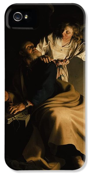 Cell iPhone 5 Cases - The Liberation of Saint Peter iPhone 5 Case by Abraham Bloemaert