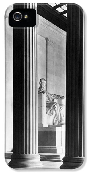 Memorial iPhone 5 Cases - The Lincoln Memorial iPhone 5 Case by War Is Hell Store