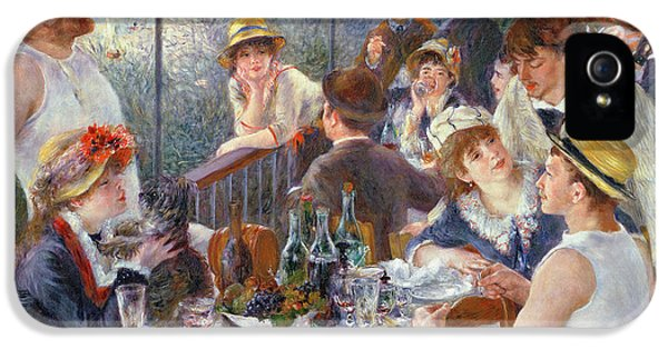 The Luncheon Of The Boating Party IPhone 5 / 5s Case by Pierre Auguste Renoir