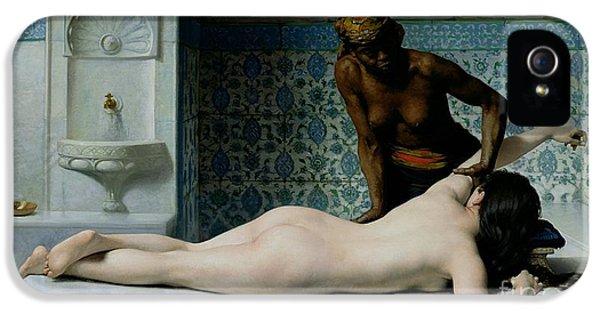 The Massage IPhone 5 / 5s Case by Edouard Debat-Ponsan