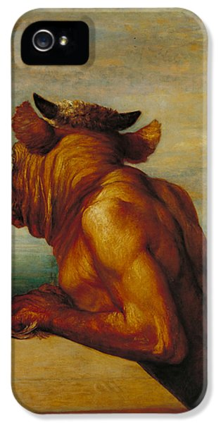 The Minotaur IPhone 5 / 5s Case by George Frederic Watts
