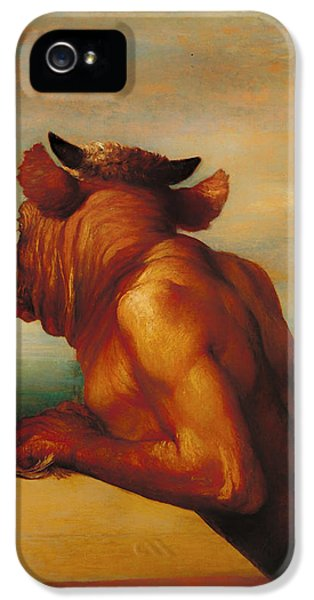 The Minotaur  IPhone 5 / 5s Case by Mountain Dreams