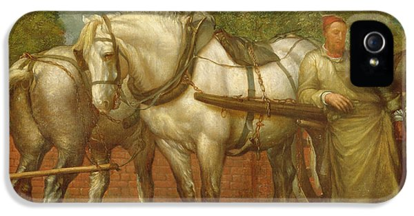 The Noonday Rest  IPhone 5 / 5s Case by George Frederick Watts