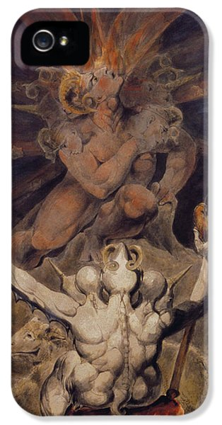 The Number Of The Beast Is 666 IPhone 5 / 5s Case by William Blake